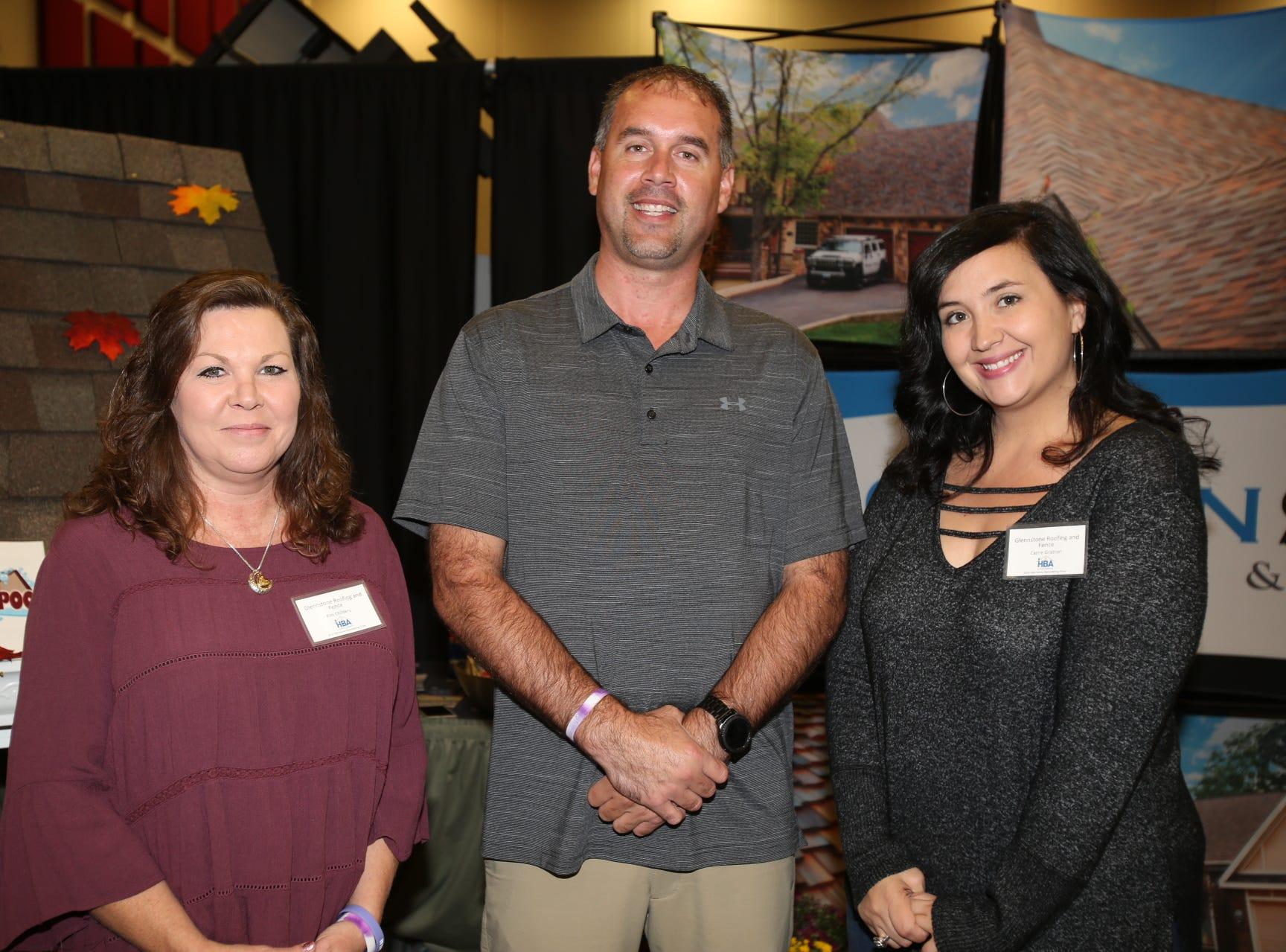 Kim Childers, Glenn Sanders, and Cami Gratton