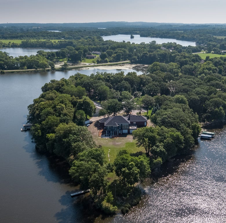 Mansion on the Market: The Castle House on Cedar Island Lake