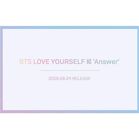 Love Yourself: Answer