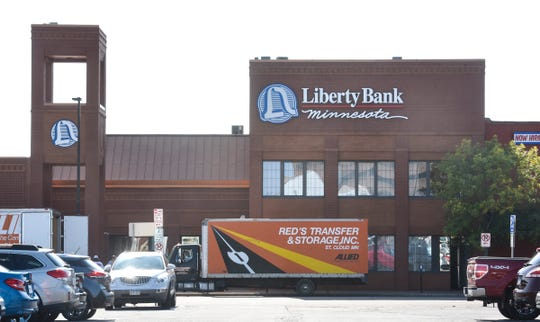 The Liberty Bank building is pictured Monday, Sept. 10, in downtown St. Cloud.