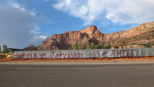 Hildale's removal of propane tank raises questions of due process