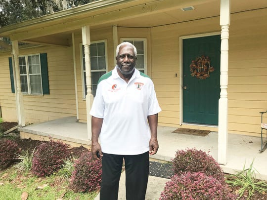 Rudy Hubbard lives in Tallahassee and still keeps up with the Rattlers. He delivered the pregame speech when FAMU faces Jackson State on Sept. 15.