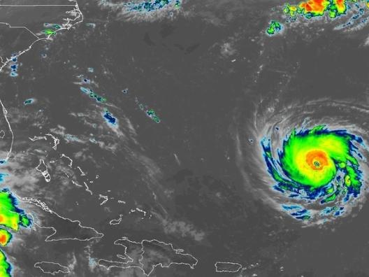 Hurricane Florence 11 a.m. Sept. 10, 2018.