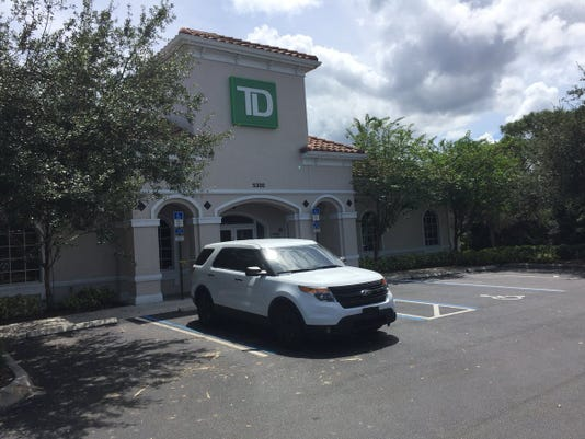 Two banks were robbed on Monday in Martin County, deputies said
