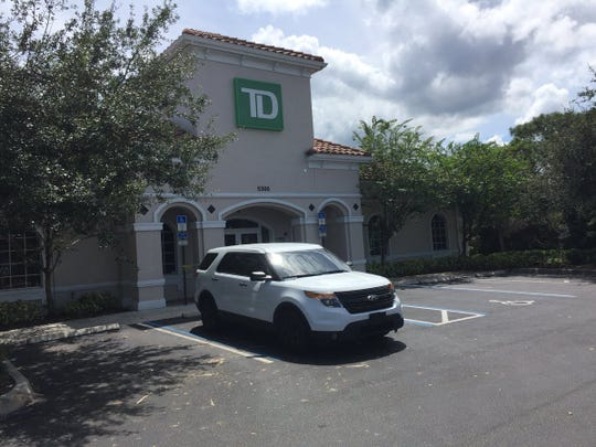 Two banks were robbed on Monday in Martin County, deputies said.