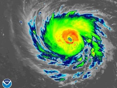 Hurricane Florence 11 a.m. Sept. 10, 2018