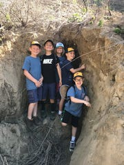 Foothill Little Leaguers explore Rancho Ventura.