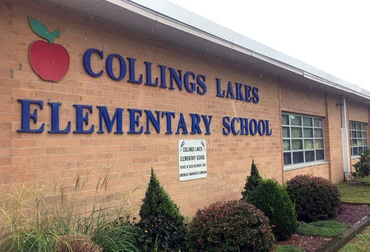 Collings Lakes Elementary School was closed Monday for emergency air-quality tests.