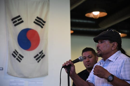 William Madueno speaks about grandfather, John Kor, who sailed to America from Korea in 1904.
