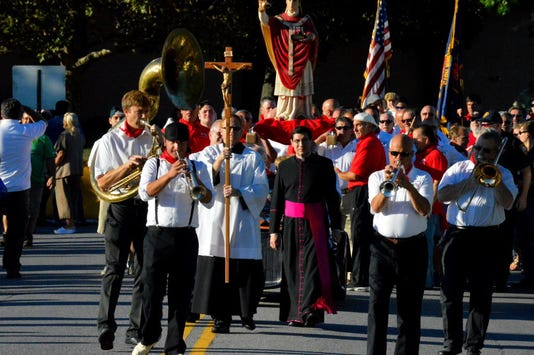 Opening Procession Band And Clergy Jpg