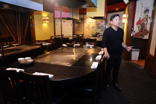 Noda Hibachi & Sushi Restaurant manager Victor Naumsuwan says he hopes to relocate to somewhere in the area after the White Plains Mall is replaced by a new development.