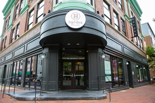 Owners Scott Stein and Chef Antimo DiMeo of Bardea Food & Drink, an Italian restaurant on N. Market Street in downtown Wilmington, said they now have delivery service and will offer curbside pick-up.