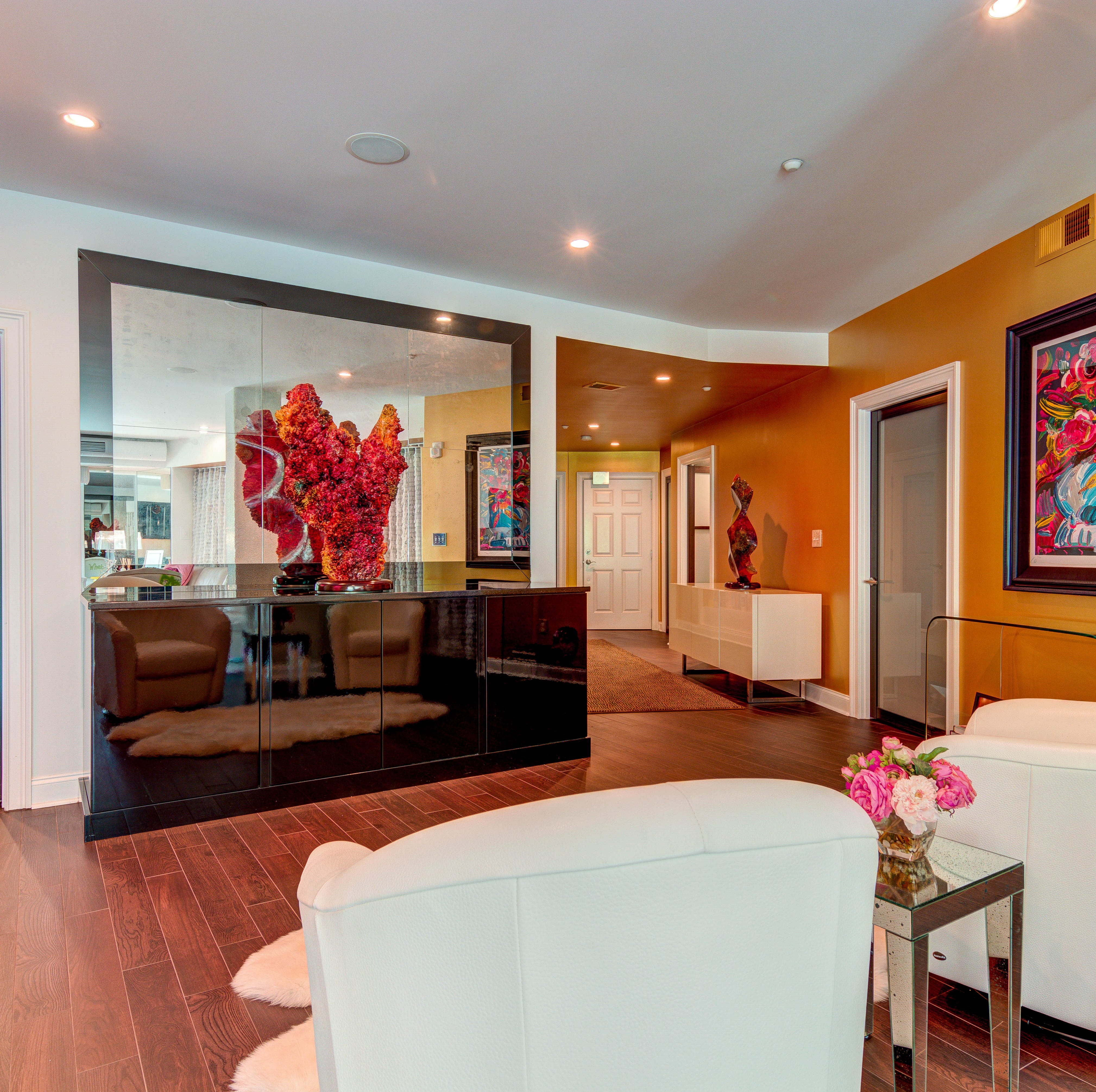 Candy-colored condo on Brandywine offers space, great location