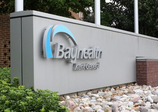 Bayhealth Kent General Sign