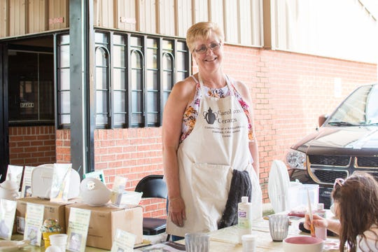 Artisan Day at the Farmers Market from 7:30 a.m. to 1 p.m. Saturday will celebrate the many artisans such as Smarty Plants and Carol Castro Ceramics that set up at the downtown market year round.