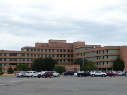 The Sheppard Air Force Base hospital was built in the 1960s and now most of the 350,000 square-foot facility is unused. A new, streamlined clinic for the base broke ground Monday, Sept. 10, and is set to be completed in 2020.