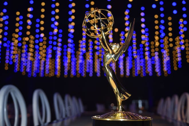Emmy statuette at the 70th Emmy Awards Governors Ball press preview at on Sept. 6, 2018 in Los Angeles.