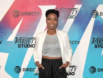 TORONTO, ON - SEPTEMBER 10:  Sasheer Zamata stops by DIRECTV House presented by AT&T during Toronto International Film Festival 2018 at Momofuku Toronto on September 10, 2018 in Toronto, Canada.  (Photo by Charley Gallay/Getty Images for AT&T and DIRECTV ) ORG XMIT: 775223973 ORIG FILE ID: 1030527654