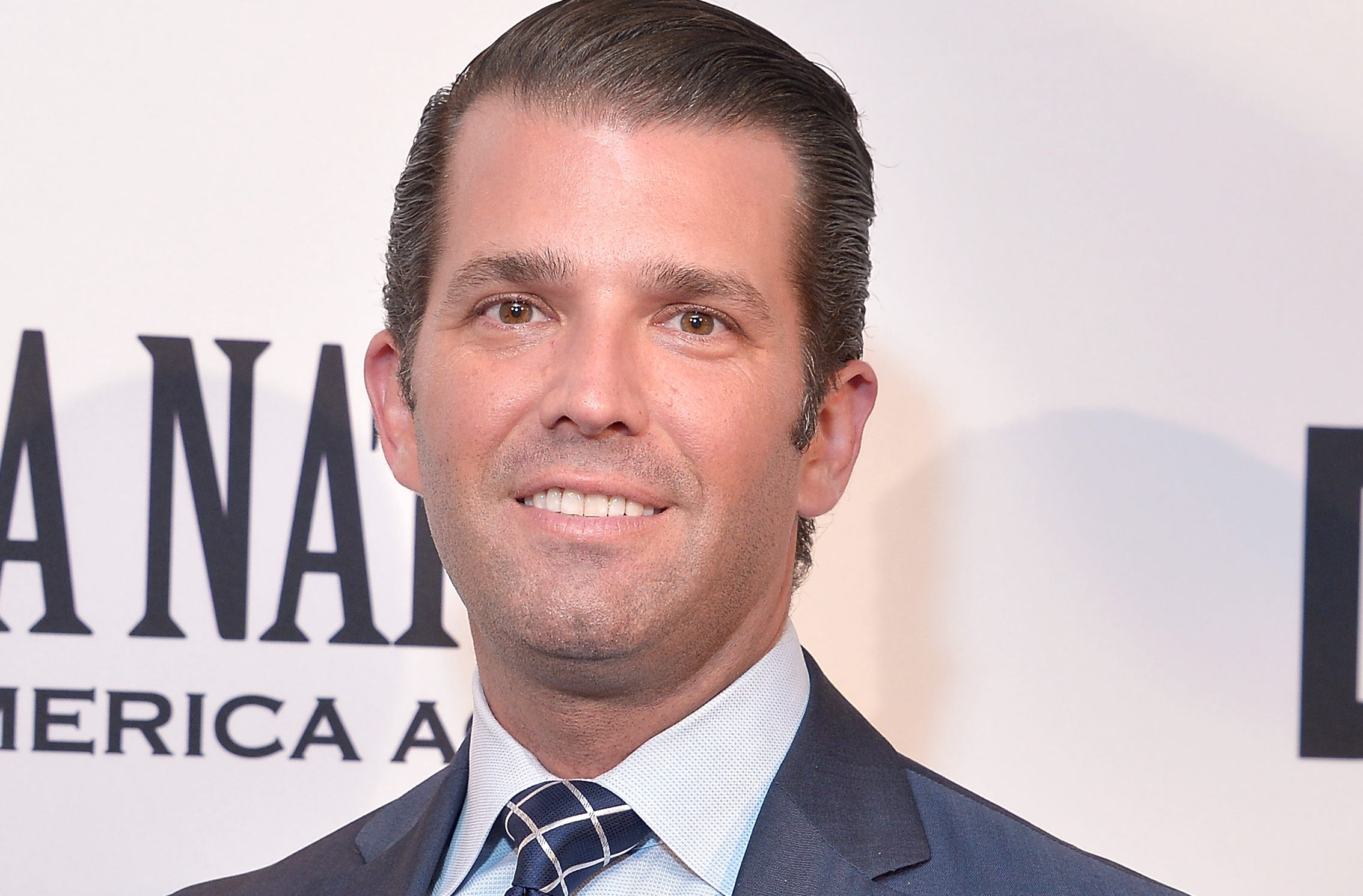 """Donald Trump, Jr. attends the Washington premiere of the film, """"Death of a Nation,"""" at E Street Cinema on Aug. 1, 2018, in Washington, D.C."""