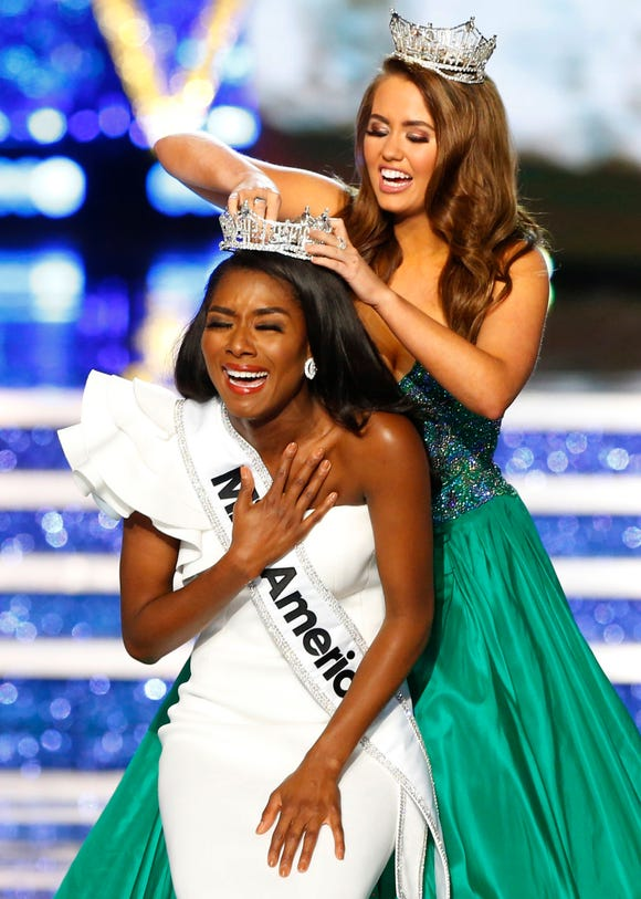 Miss New York Nia Franklin got upgraded to Miss America 2019.