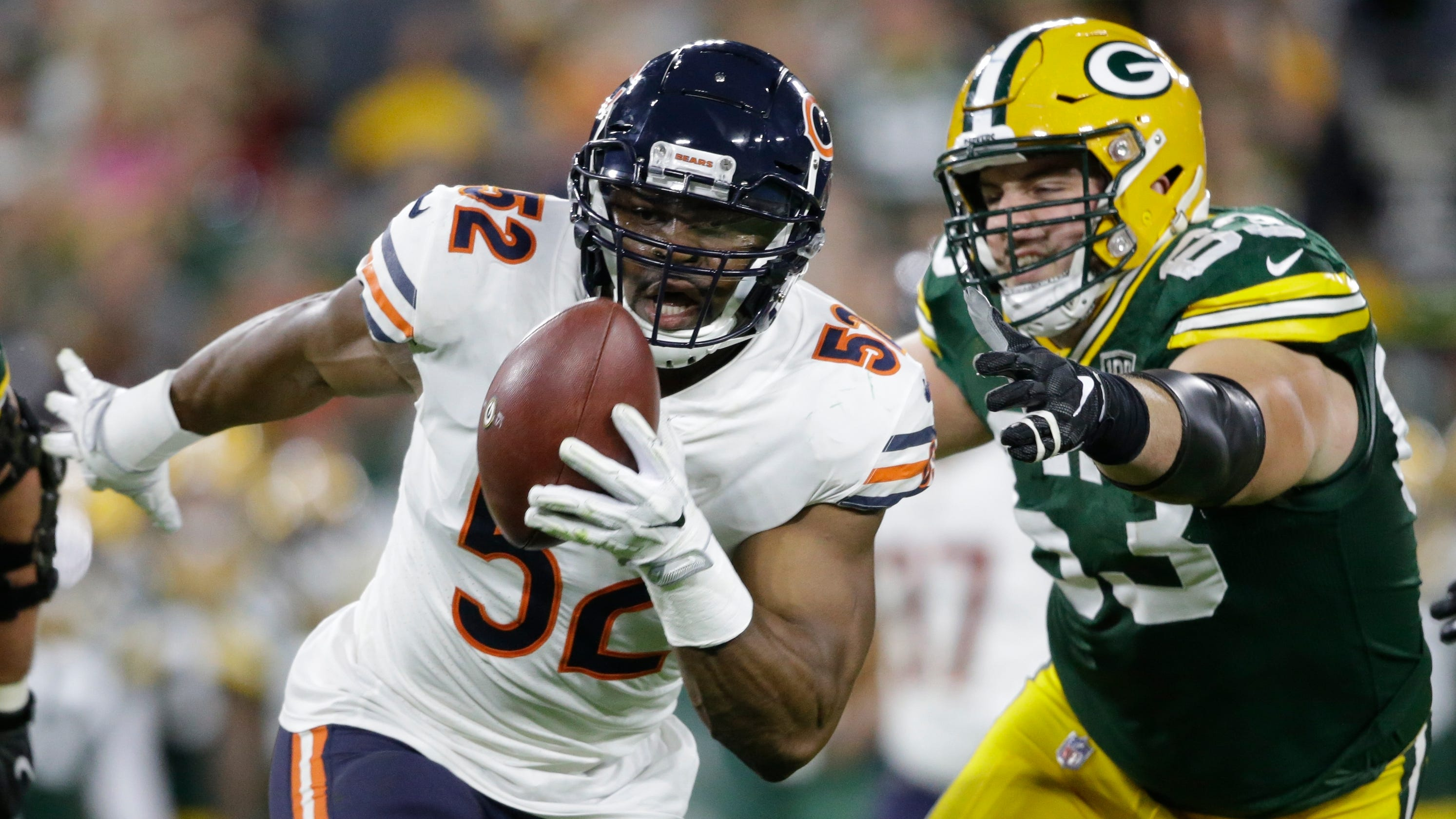 Khalil Mack s Chicago Bears debut a dominant performance vs. Packers d92f67197