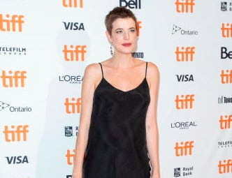 Agyness Deyn attends the premiere of 'Her Smell' at the Toronto International Film Festival in Toronto, Ontario, September 9, 2018. (Photo by Geoff Robins / AFP)GEOFF ROBINS/AFP/Getty Images ORG XMIT: Toronto i ORIG FILE ID: AFP_18Z3YG