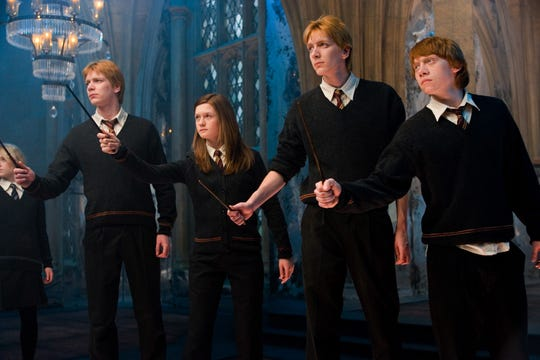 """Think of it this way: every great wizard in history has started out as nothing more than what we are now: students,"" Potter tells the rest of Dumbledore's Army in ""Harry Potter and The Order of the Phoenix."" ""If they can do it, why not us?"""