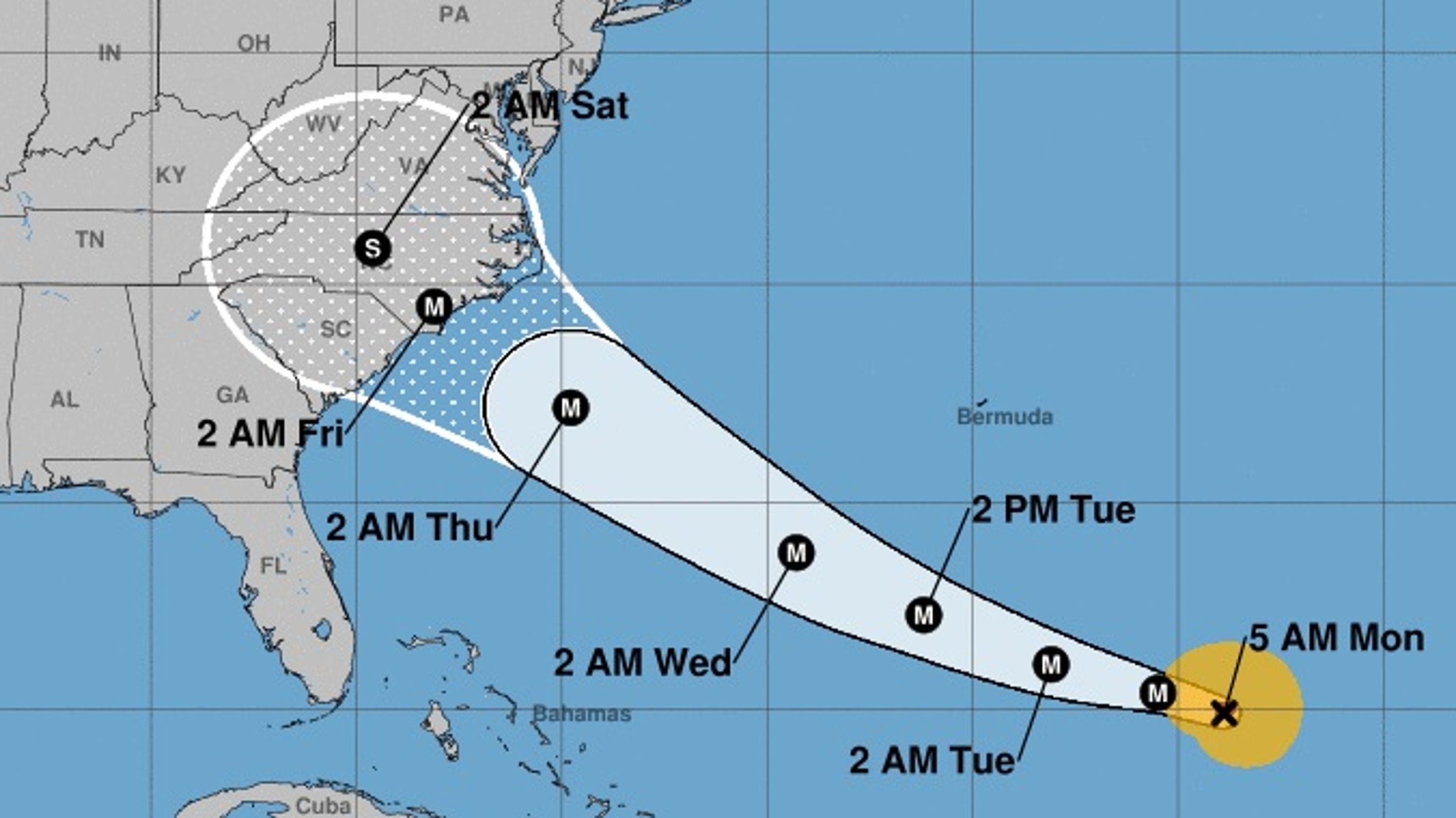 Hurricane Florence: Full list of fee waivers at U.S. airlines