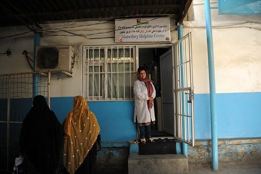 Dr. Rona Abidi Shayan heads the Midwifery Helpline Center in Kabul, Afghanistan.