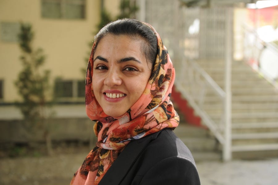 She saved a pregnant woman's life and now works to make childbirth safer for all Afghan women