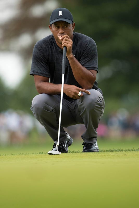 Pga Bmw Championship Third Round - Follow Tiger Woods' BMW Championship Final Round Shot-by-shot