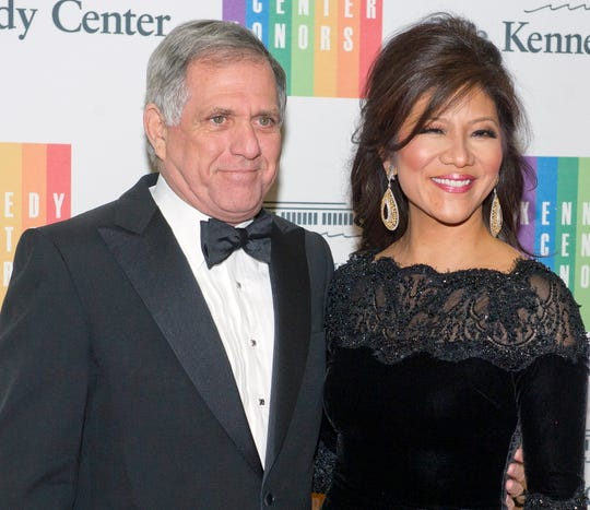 """""""The Talk"""" co-host Julie Chen, with her husband, former Chairman and CEO of CBS Leslie Moonves, was absent from Monday's season premiere of daytime program."""