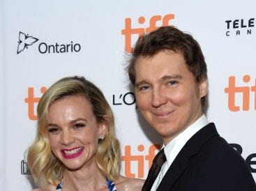 "TORONTO, ON - SEPTEMBER 10:  Carey Mulligan (L) and Paul Dano attend the ""Wildlife"" premiere during 2018 Toronto International Film Festival at Princess of Wales Theatre on September 10, 2018 in Toronto, Canada.  (Photo by Amanda Edwards/Getty Images) ORG XMIT: 775218763 ORIG FILE ID: 1030601580"