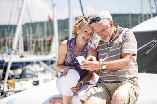 Let friends and family at home keep tabs on your travels.