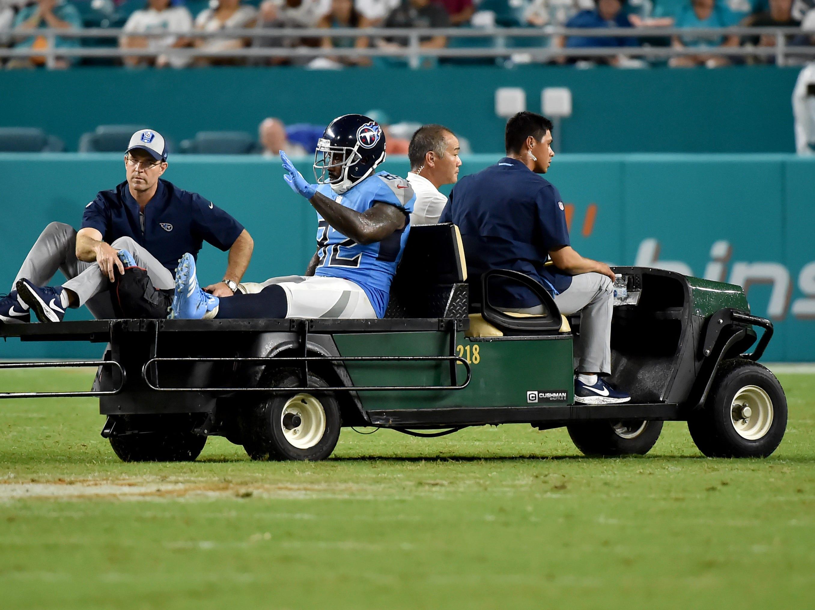 Delanie Walker, TE, Tennessee Titans (ankle injury, out until at least Week 10)