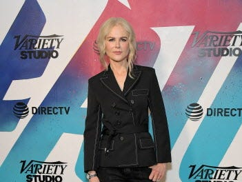 TORONTO, ON - SEPTEMBER 10:  Nicole Kidman stops by DIRECTV House presented by AT&T during Toronto International Film Festival 2018 at Momofuku Toronto on September 10, 2018 in Toronto, Canada.