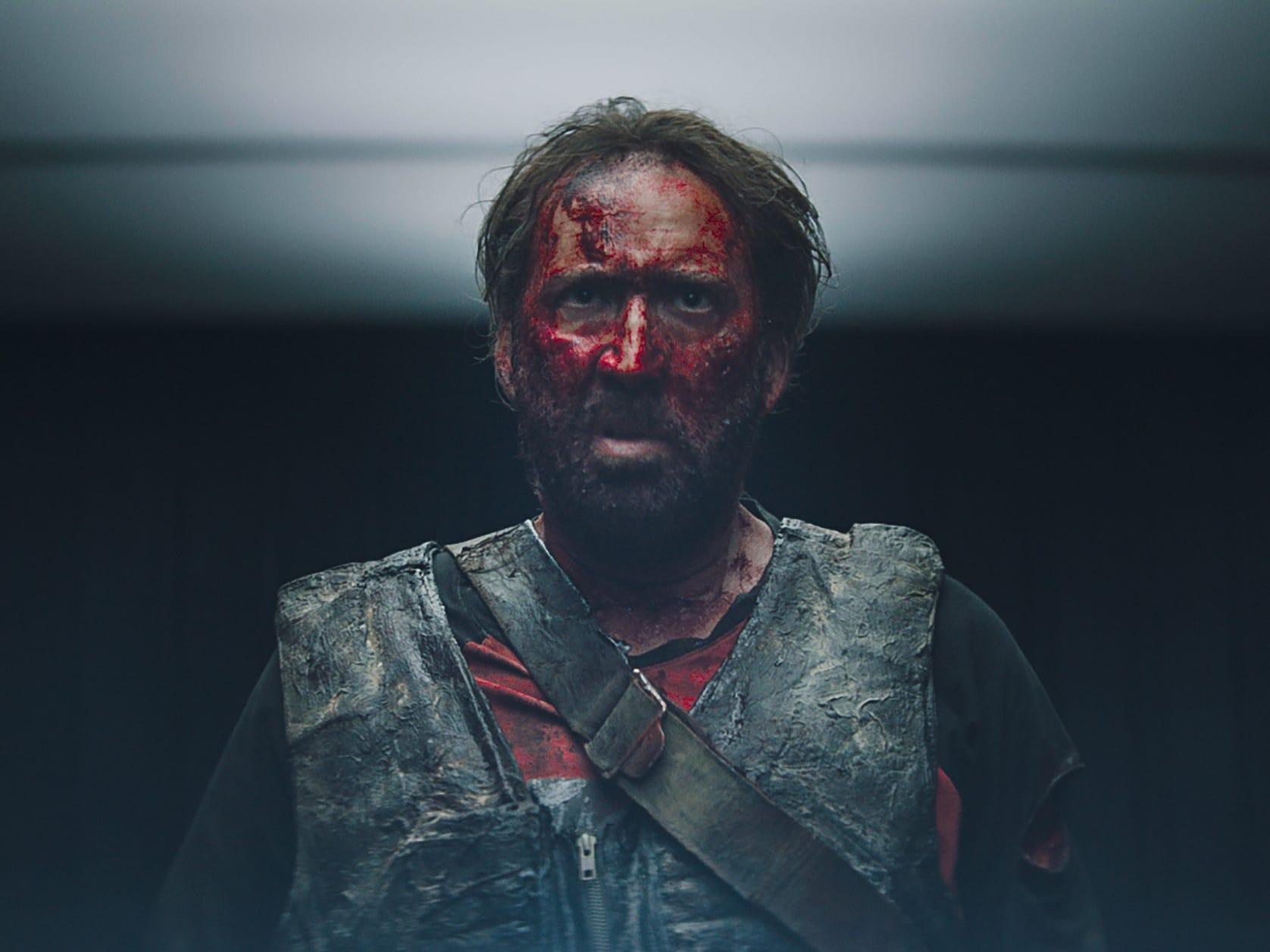 """Nicolas Cage wreaks bloody havoc in """"Mandy."""""""
