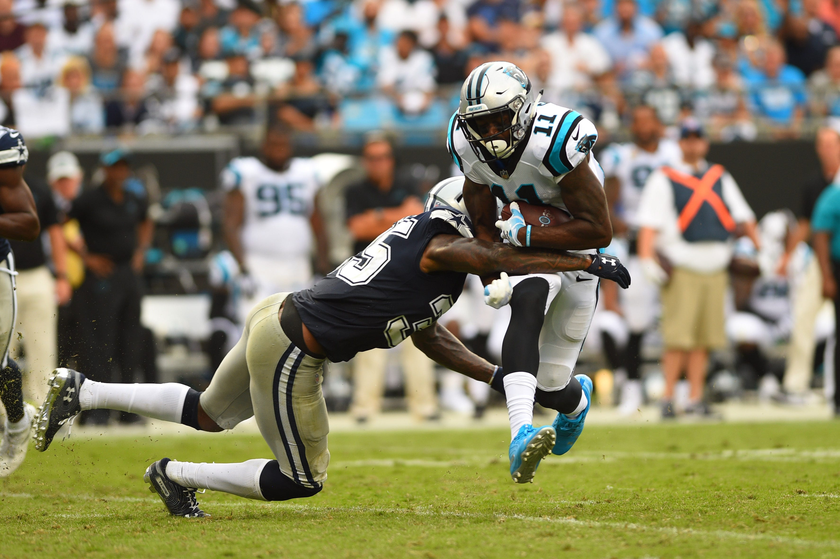 Usp Nfl Dallas Cowboys Carolina Panthers Cbs Fox Ratings Gains Week