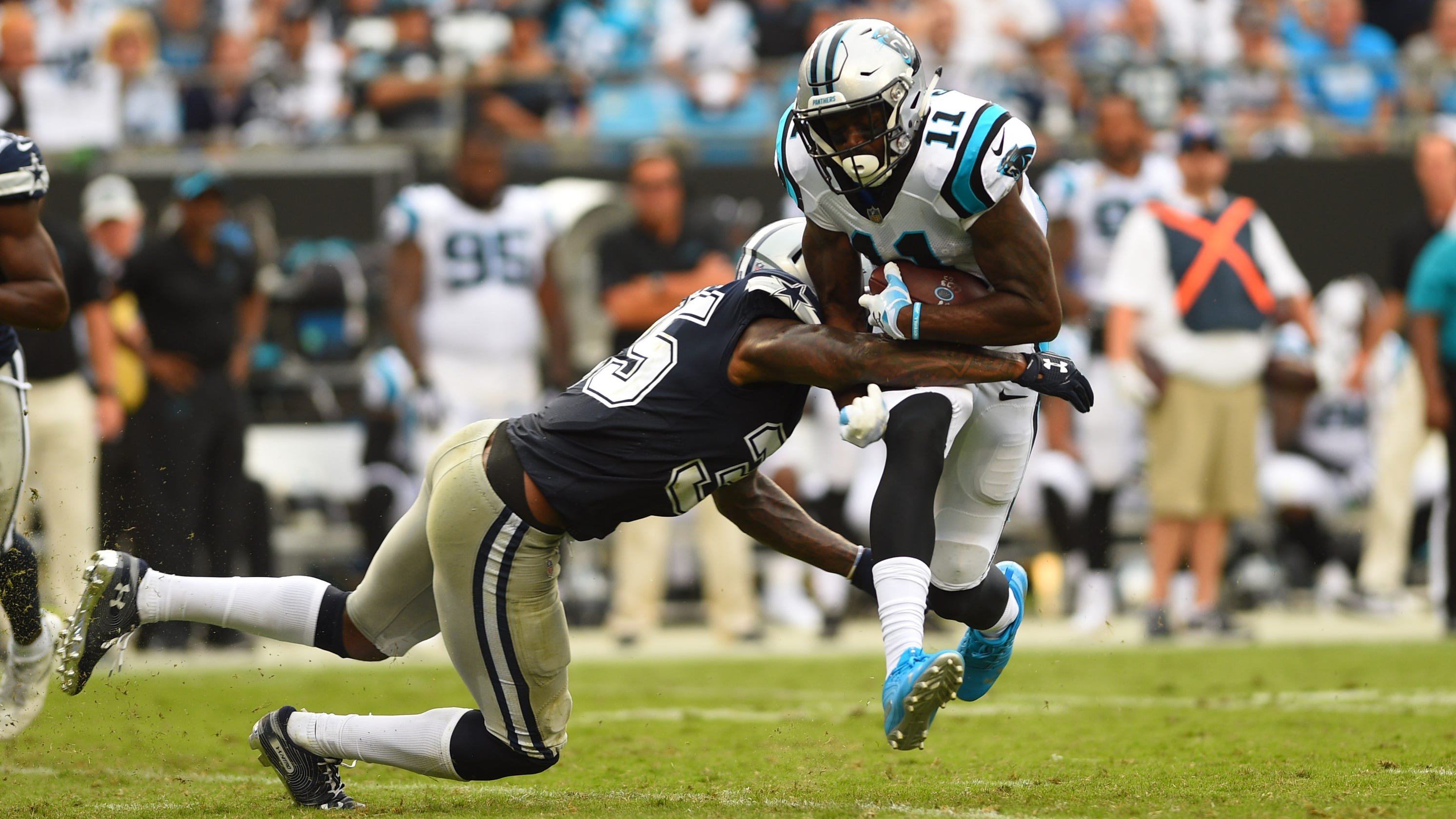 Usp Nfl Dallas Cowboys Carolina Panthers Crop Width Height Fit Bounds Cbs Fox Ratings Gains Week