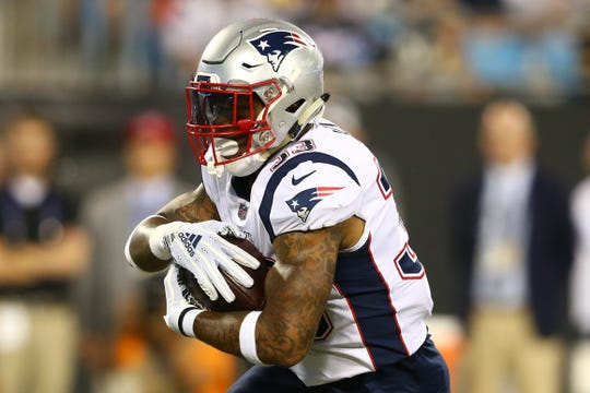 Jeremy Hill, RB, New England Patriots (torn ACL, out for season)