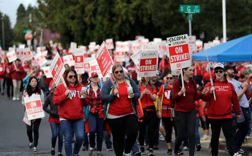 Teachers strikes continue as Washington educators notch a