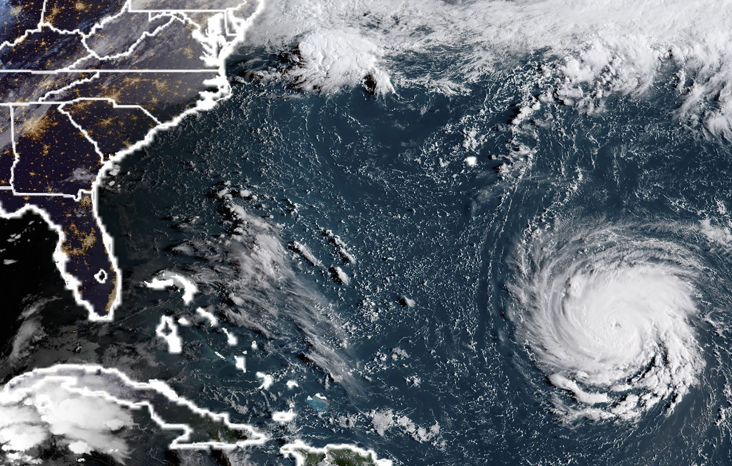 More than 1 million flee as Florence rips toward East Coast