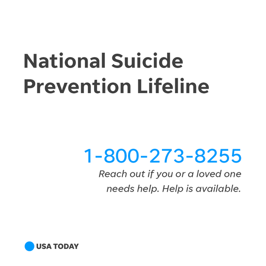 National Suicide Prevention Line