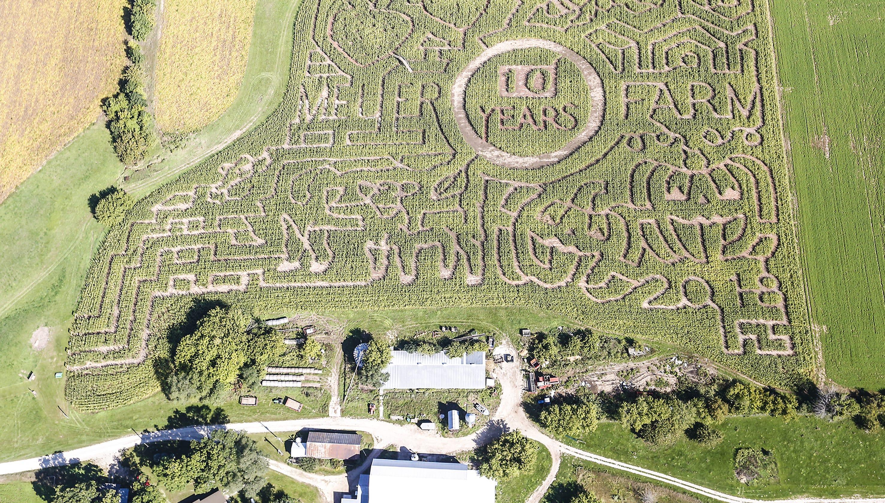 Meuer Farm Corn Maze Ten Years Of Getting Lost Near Chilton