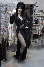 Cassandra Peterson, also know as Elvira, Mistress of the Dark, pictured in 2007, will be at the New Jersey Horror Con and Film Festival in Atlantic City.
