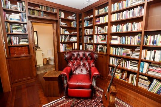 Jim and Sabrina Watson's library.