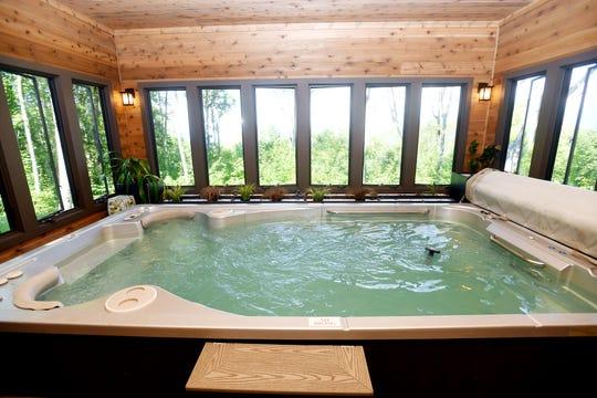 Jim and Sabrina Watson's pool.