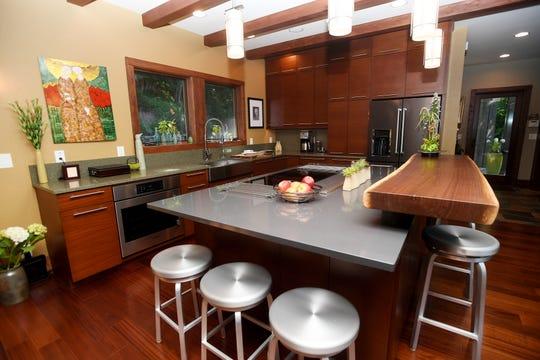 Jim and Sabrina Watson's kitchen.