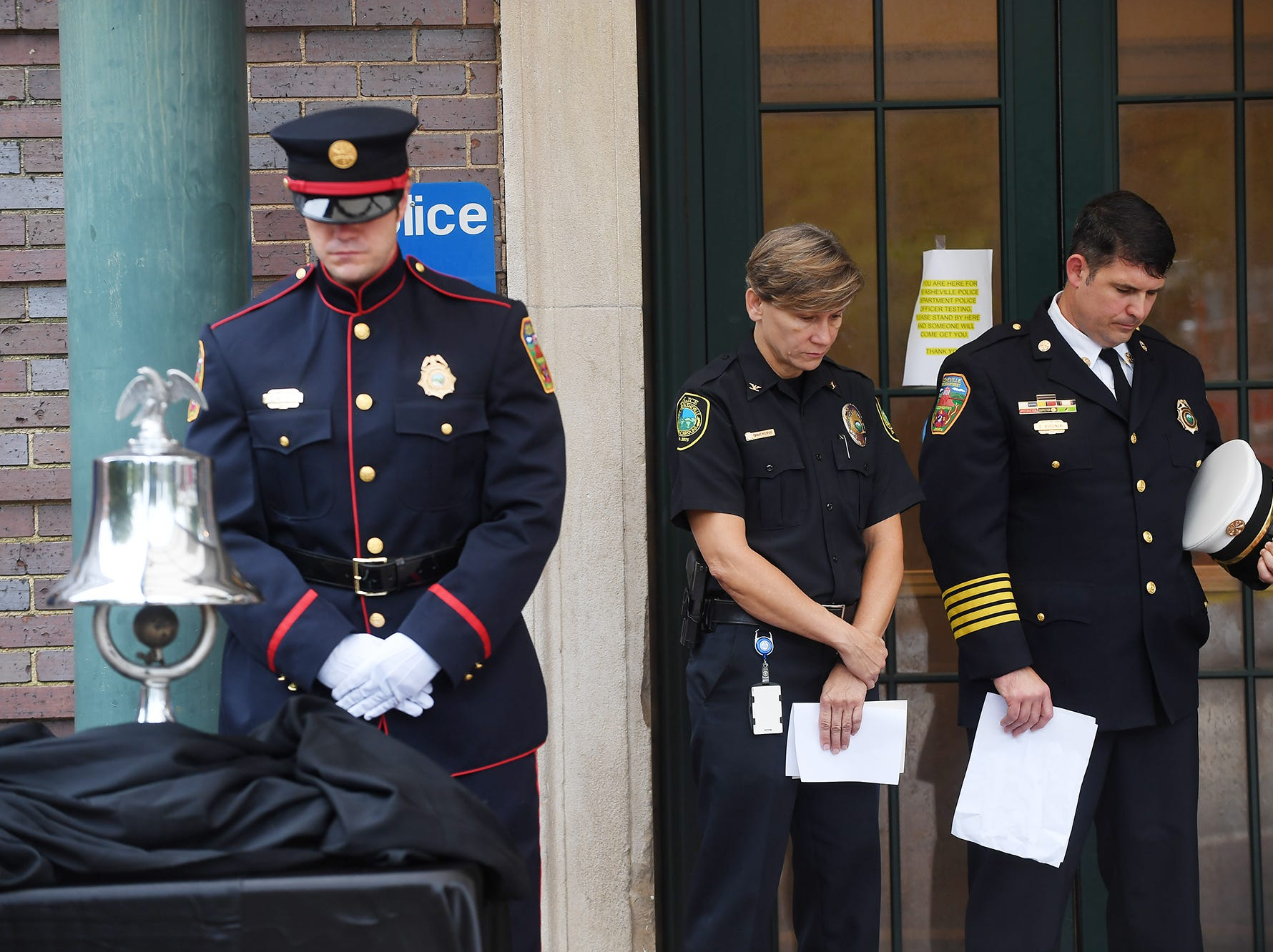 Asheville hosted a 9-11 remembrance ceremony at the City Municipal Building Sept. 11, 2018.