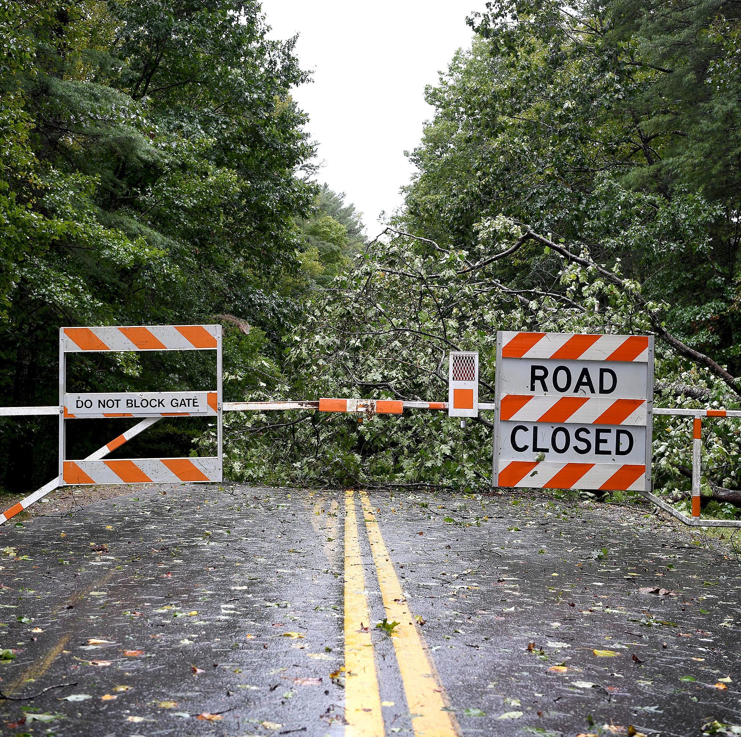 Parkway reopens in Asheville; Great Smokies reopens roads, campgrounds after Florence